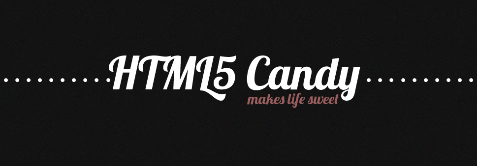 HTML5 Candy